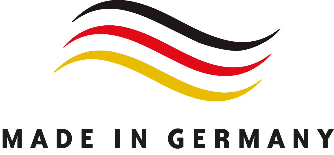 [Translate to Französisch:] Made in Germany Logo